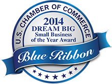 2014 Dream Big Blue Ribbon Small Business of the Year Award